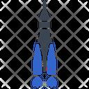 Space Rocket Launch Rocket Icon