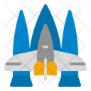 Space Ship Space Rocket Icon
