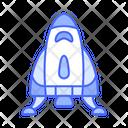 Space Ship Sci Fi Tranportation Icon