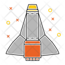 Shuttle Space Galaxy Icon