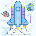 Space Station Space Shuttle Astronomy Icon