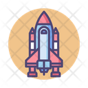 Mspace Shuttle Space Shuttle Flying Jet Icon