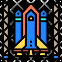 Space Shuttle Aerospace Alien Icon