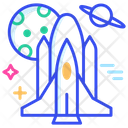 Space Shuttle Game Rocket Icon