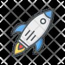 Space Shuttle Rocket Launch Icon
