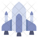 Space Shuttle Spaceship Rocket Icon