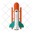 Space Shuttle Travel Icon