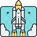 Space Shuttle Launch Launch Rocket Icon