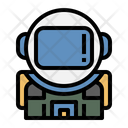 Space Suit Astronaut Safety Suit Icon