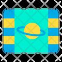 Saturn Video Saturn Planetspace Icon