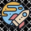 Spacecraft Spaceship Aerospace Icon