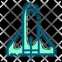 Spacecraft Astronomy Rocket Icon
