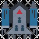 Spacecraft Rocket Asylum Icon