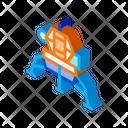 Spacecraft Galaxy Man Icon