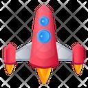 Rocket Projectile Spaceship Icon