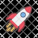 Spacecraft Rocket Spaceship Icon
