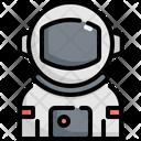 Astronaut Spaceman Helmet Icon