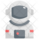 Spaceman Astronaut Space Icon