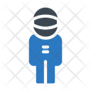 Astronaut Space Science Icon