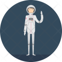 Spaceman Science Astronaut Icon