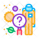 Spaceman Space Medical Icon