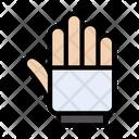 Stop Hand Block Icon