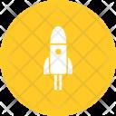 Space Rocket Spaceship Icon