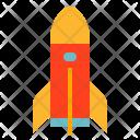 Spaceship Space Transportation Icon