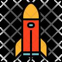 Spaceship Space Rocket Icon