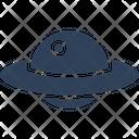 Spaceship Ufo Aircraft Icon