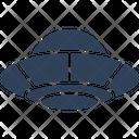 Cv Spaceship Ufo Icon