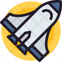 Spaceship Aircraft Space Vehicle Icon