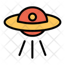 Spaceship Space Space Craft Icon