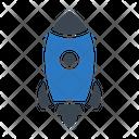 Spaceship Rocket Travel Icon