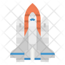Spaceship Planet Space Icon