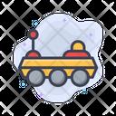 Spaceship Space Astronomy Icon