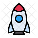 Rocket Spaceship Fly Icon