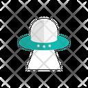 Spaceship Alienship Ufo Icon