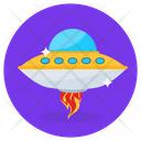 Spaceship Scapecraft Space Shuttle Icon