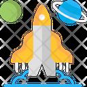 Spaceship Space Rocker Icon