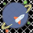 Spaceship Missile Rocket Icon