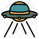 Spaceship Ufo Alien Icon