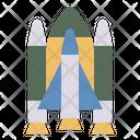 Spaceship Spacecraft Rocket Icon