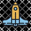 Spaceship Aerospace Cosmos Icon