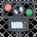 Spaceship Control Room Icon