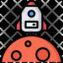 Mars House Spaceship Icon