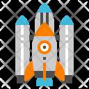 Spaceship Rocket Shuttle Icon