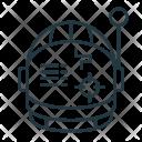 Spacesuit Helmet Work Icon