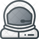 Space Suit Helmet Icon