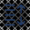 Spacing Increase Arrows Icon